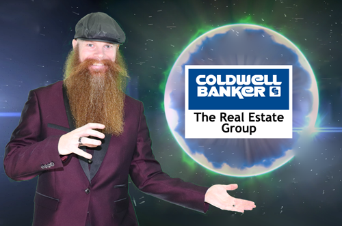 Largest Beard in Real Estate holding Coldwell Banker The Real Estate