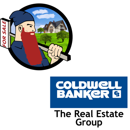 Wizard of Real Estate - Largest Beard in Real Estate and Coldwell Banker Logos